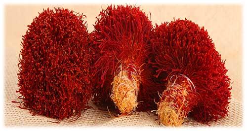 Bunch Iranian saffron