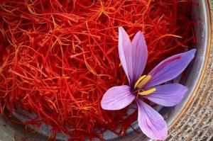 Saffron use in factories